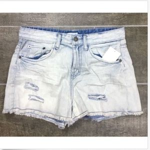Abound Short Shorts Distressed Frayed-hem